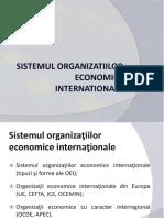 Sistemul Organizatiilor Economice Internationale