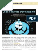 Artículo - Lean Software Development
