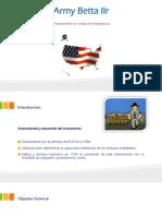 Army Betta IIR Presentación.