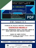 CÁLCULO  ANALÍTICO  TOPOGRÁFICO  PLANIMÉTRICO - PASSO A PASSO.pdf