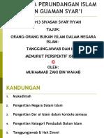 Orang-Orang Bukan Islam Dalam Negara Islam-Tanggungjawab Dan Hak 25.03.10