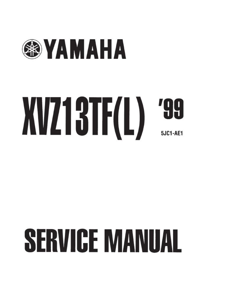 Xvz1300 Wiring Diagram - Wiring Diagram Set on