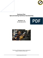 Business Plan Agro Processing 2015-01-30