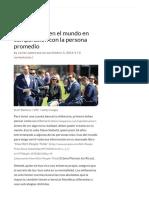 Así Los Ricos Ven El Mundo en Comparación Con La Persona Promedio – MEGA RICOS