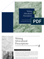 Writing Silviculture Prescriptions