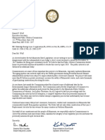 Letter to the PUC from Speaker Daudt and Majority Leader Gazelka