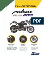 Pulsar Rs 200 Nuevo