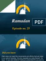Ramadan Episode No 25