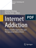 (Studies in Neuroscience, Psychology and Behavioral Economics) Christian Montag, Martin Reuter (Eds.)-Internet Addiction_ Neuroscientific Approaches and Therapeutical Interventions-Springer Internatio