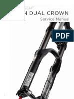 RS Domain 2011 Dual Crown Service Manual