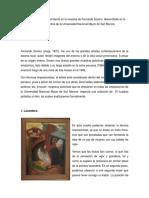 Elementos de Reconocimiento en La Muestra de Fernando Sovero