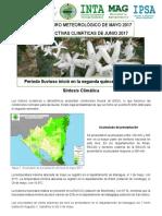 0517 Boletín Agrometeorológico MAY2017