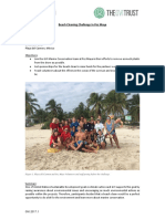 Beach Cleaning Challenge in Pez Maya, GVI Playa Del Carmen MAR Dec 17