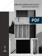 Miradas a La Arquitectura Moderna Tomo 1