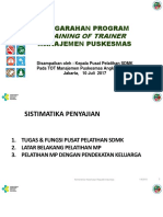 1. Pengarahan Program Pelatihan MP 2017