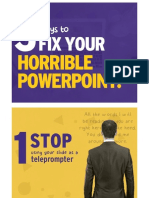 3 Fix Your Horrible Powerpoint