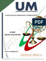 Derecho Penal 2 -Melissalopez New