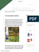 Usos de Agua Oxigenada en La Agricultura