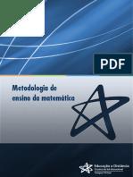 unidade1 - curso de metodologia de ensino da matemática