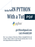 Learn Python Ad