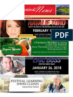 January Newsletter Sun City Festival