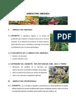 AGRICULTURA ORGÁNICA-1