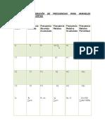 Tabla de Distribución de Frecuencias Para Variables Cuantitativas Discretas