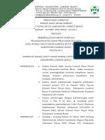 Peraturan Direktur Panduan Pelaksanaan Rujukan Sesuai Templit - Copy