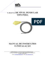 Manual Chave de Nivel Tipo Boia Pendular Pera