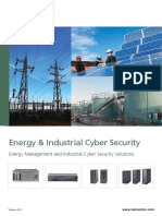 Energy Management and Industrial Cyber Security Solutions Brochure