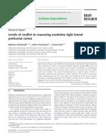 Níveis de Conflito No Raciocínio Modulam o Córtex Pré-frontal Lateral Direito