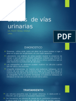Litiasis de Vías Urinarias