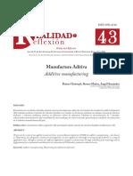 Manufactura Aditiva.