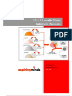 AMCAT Results Mimic Interview Decisions