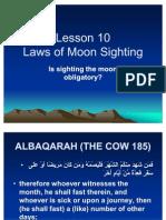 Laws Moon Sighting