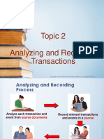 Topic 2 - The Accounting Cycle