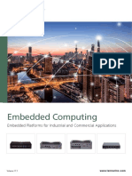 Embedded Platforms for Industrial and Commercial Applications - Brochure