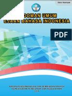 Pedoman Umum Ejaan Bahasa Indonesia (PUEBI)