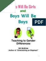 Gender Keynote