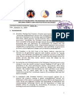 DILG DTI DPWH DICT JMC 2018-01 Bldg Permits and Cert of Occupancy