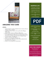 Amazing You Card