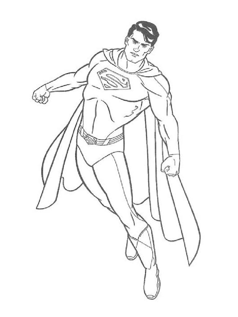 superheroes para colorear.pdf