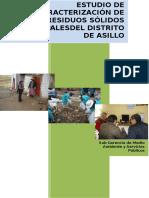 Estudio de Caracterizacion Asillo 2014