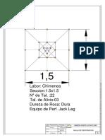 Malla de Perforacion Lucia-1.5x1.5 R.dura