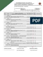 Matriz Seguimiento Silabo CONTROL de CALIDAD 2017-2018