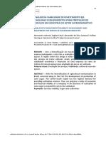 Análise Da Viabilidade de Investimento Em Indústria Do Setor Sucroenergético