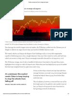 Traders Nervously Eye China's Strategic Oil Imports