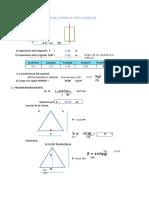 Excel Para El Diseño de Correas