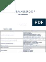 Ser Bachiller 2017