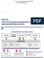 CE07.44 Communication & Negotiation Skills for PMs- Document Management-002 Documentation for Claim Management
